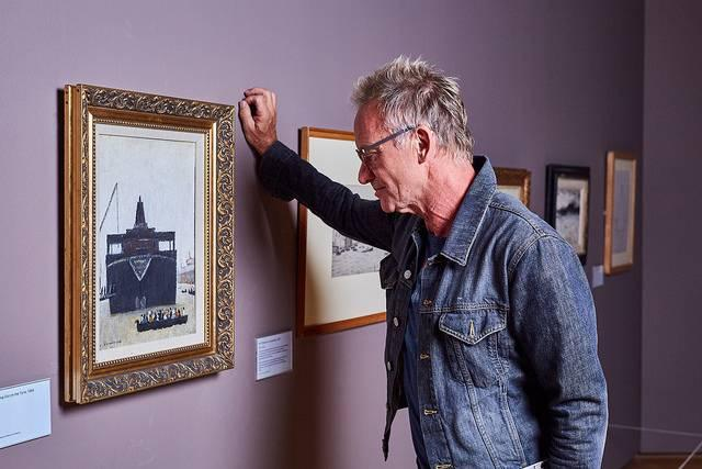 Photo-of-Sting-in-The-Lowry-gallery