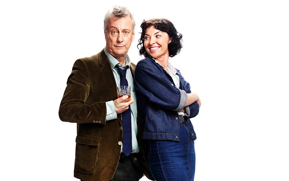 Stephen Tompkinson & Jessica Johnson in Educating Rita