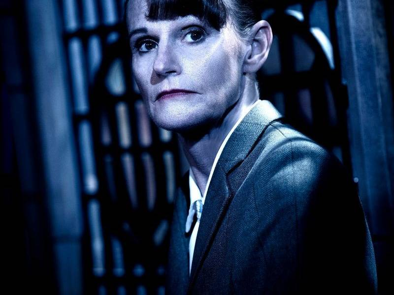 Gwyneth Strong as Mrs Boyle in The Mousetrap