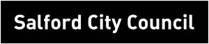 A picture of the Salford City Council logo