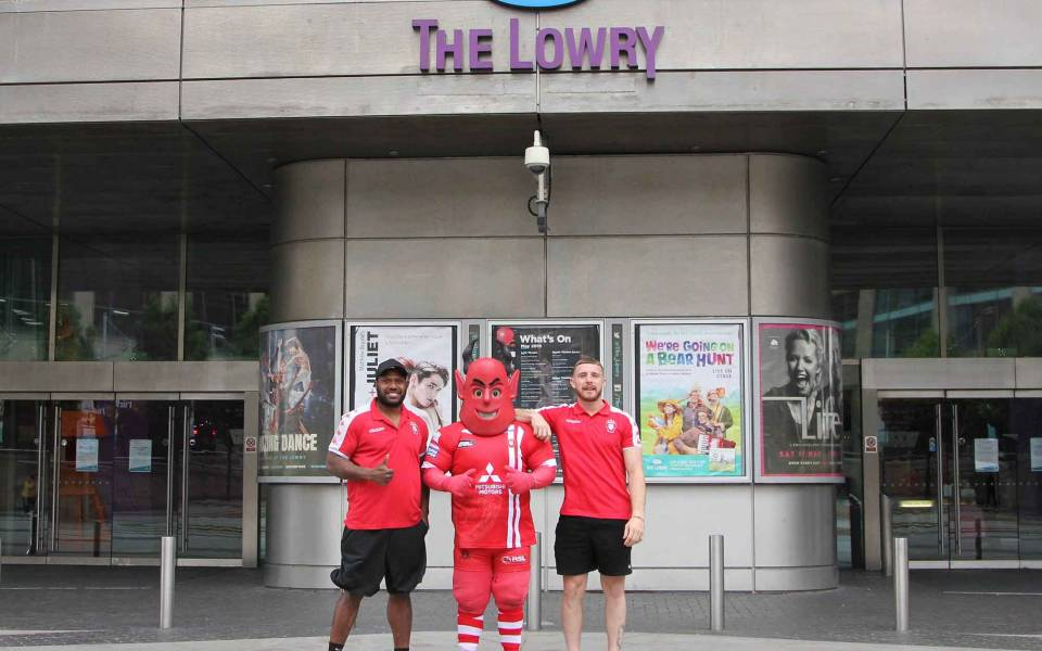 Salford Red Devils at The Lowry