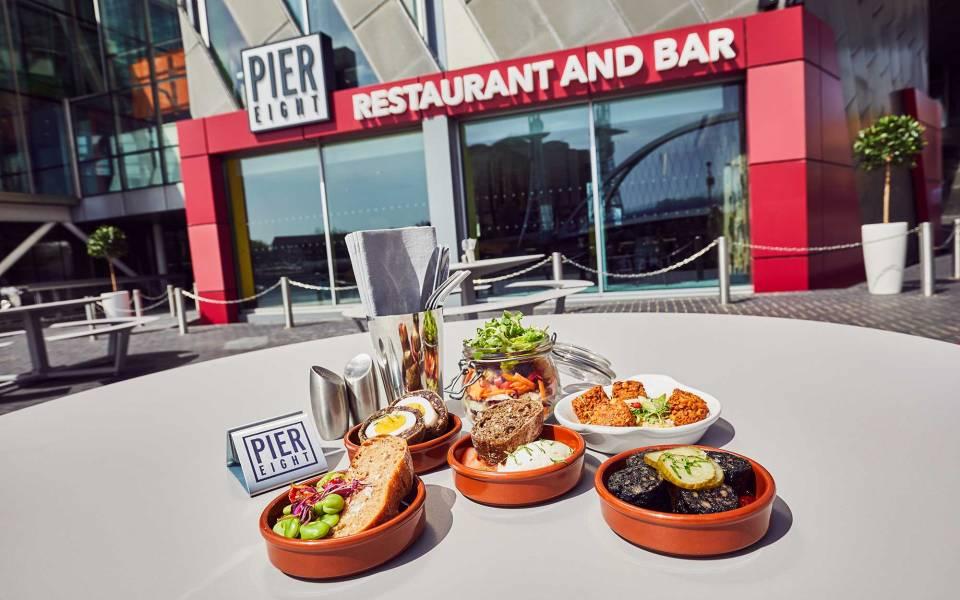 Pier Eight Bar Menu