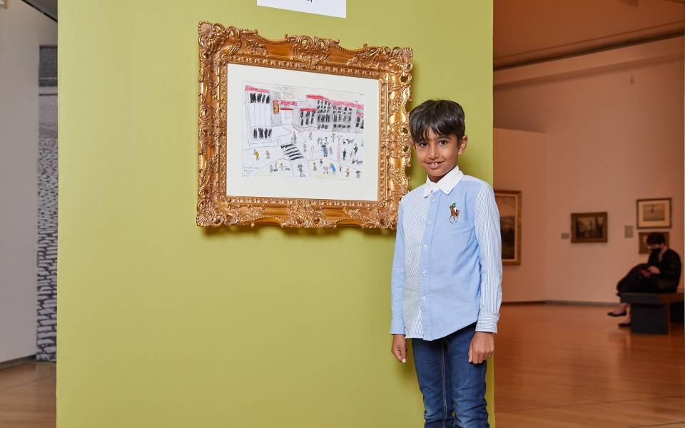 Zayn Fazal Copley Prize Winner 2021